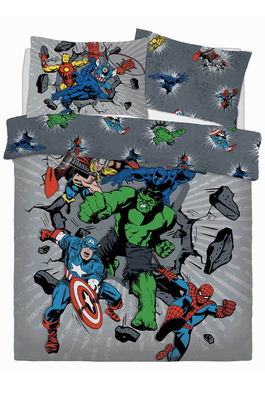 Marvel Avengers Double Bedding Bedding Cool Clobber