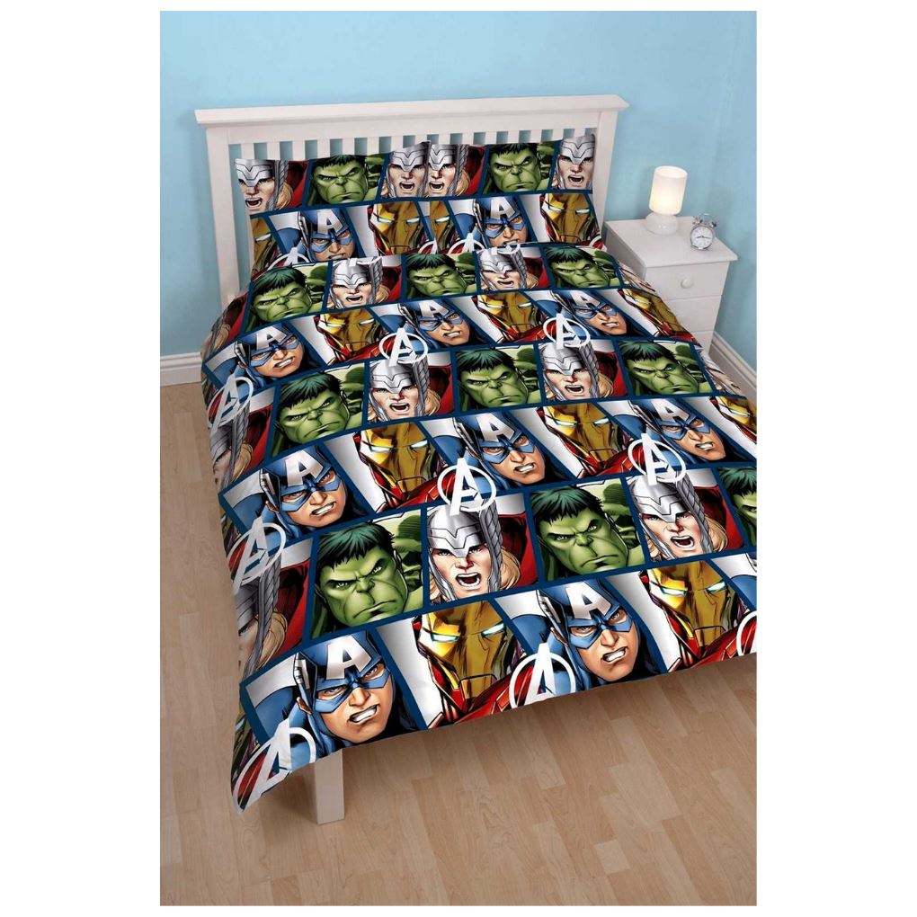 Marvel Avengers Shield Bedding - Double Bedding Marvel