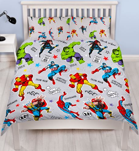 Marvel Comics Bedding - Double