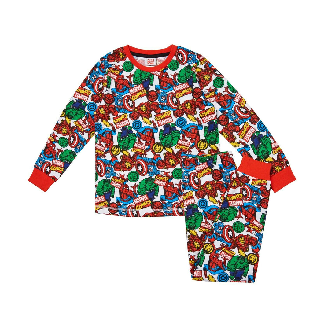 Boys Marvel Comics Pyjamas