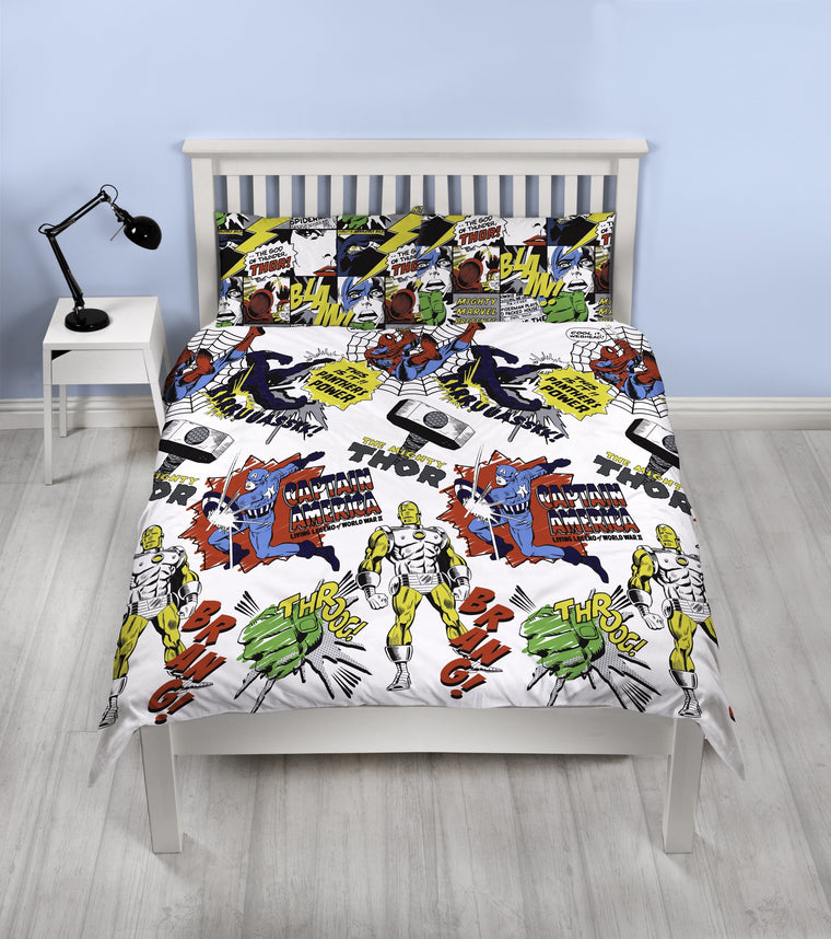 Marvel Double Bedding | Scribble
