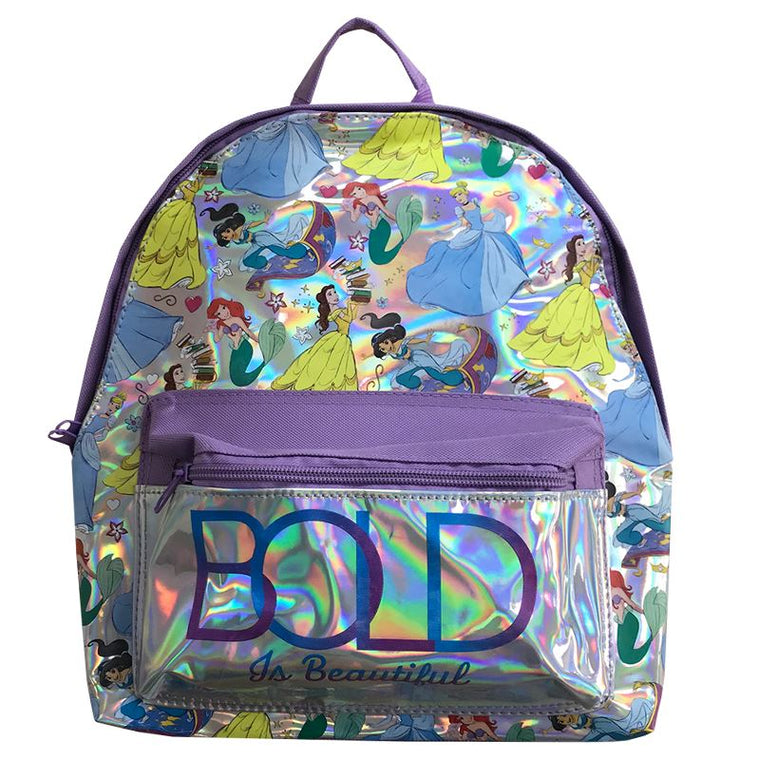 Disney Princess Backpack | Metallic Pocket