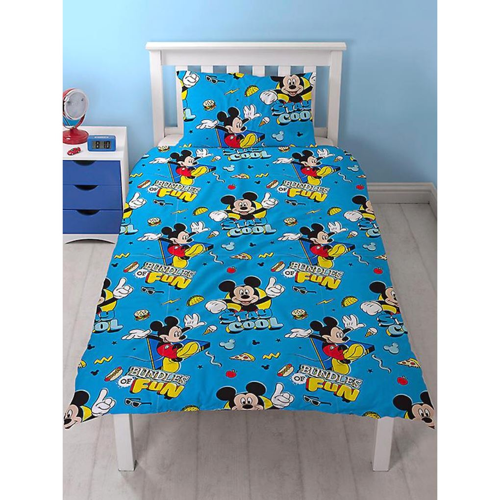 Mickey Mouse Single Bedding | Stay Cool Bedding Mickey Mouse