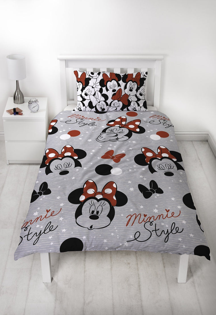 Minnie Mouse Single Bedding Set
