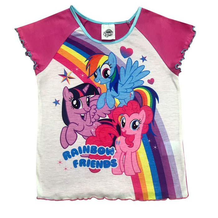 My Little Pony Short Pyjamas Girls Pyjamas Cool Clobber Limited