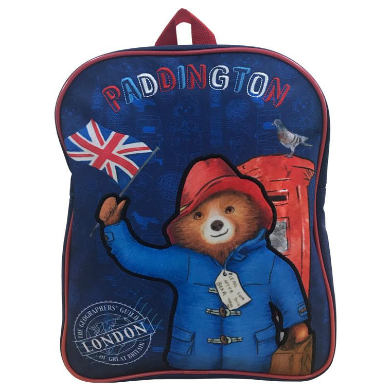 Paddington Bear Backpack | Flag
