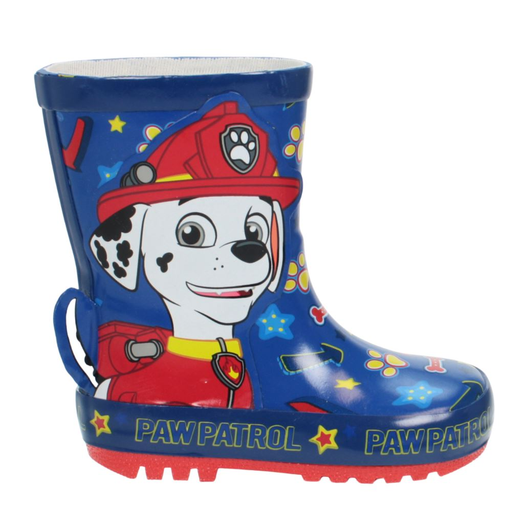 Paw Patrol Chase & Marshall Wellies Boys Wellies Paw Patrol