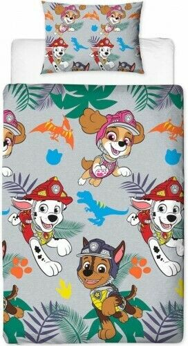 Paw Patrol Single Bedding | Dino Rotary
