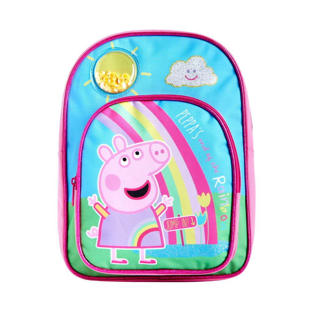 Peppa Pig Backpack | Rainbow Backpack Cool Clobber Limited