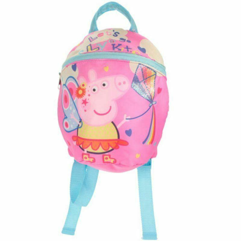 Peppa Pig Backpack With Reins Backpack Cool Clobber Limited