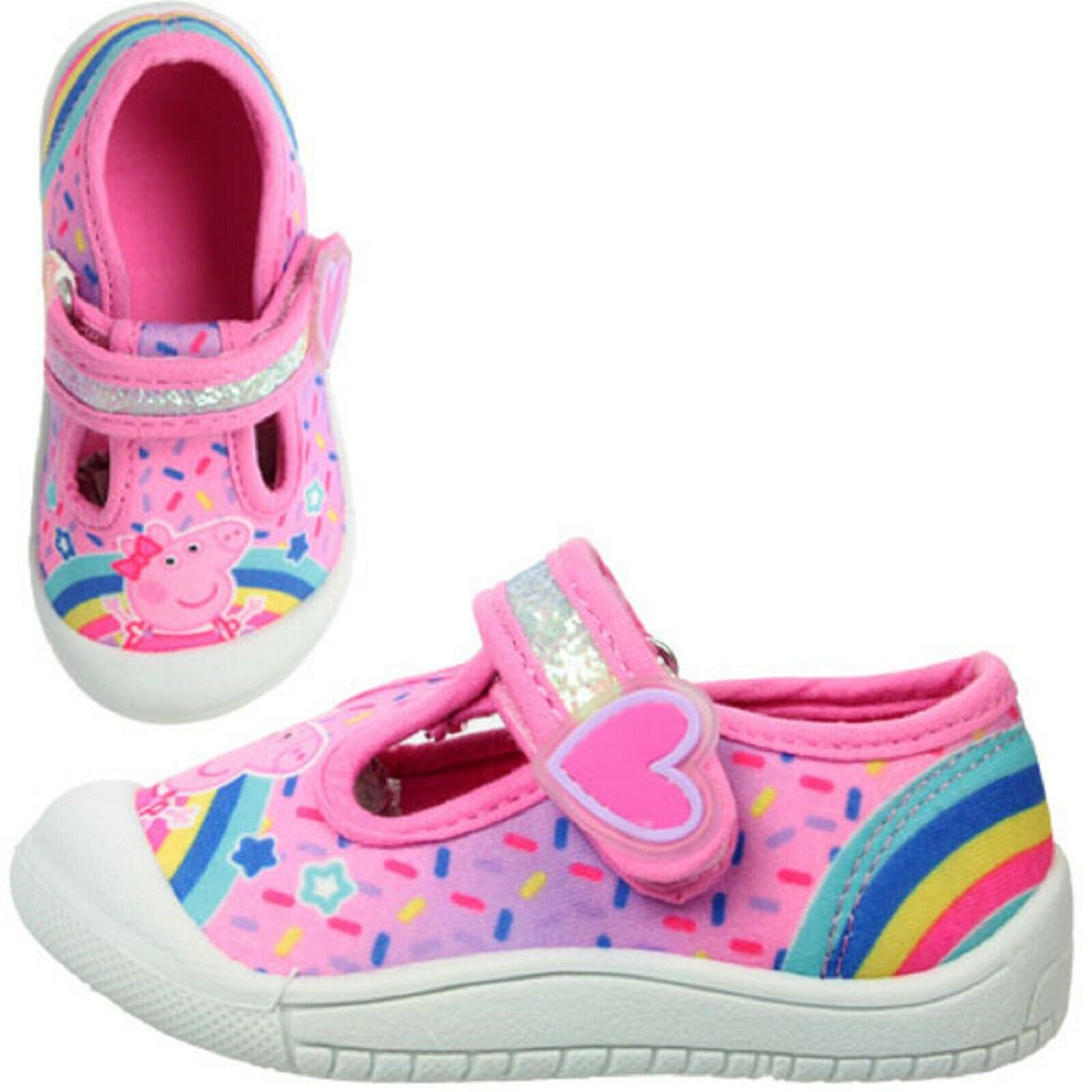 Peppa Pig Pink Trainer girls trainers Peppa pig