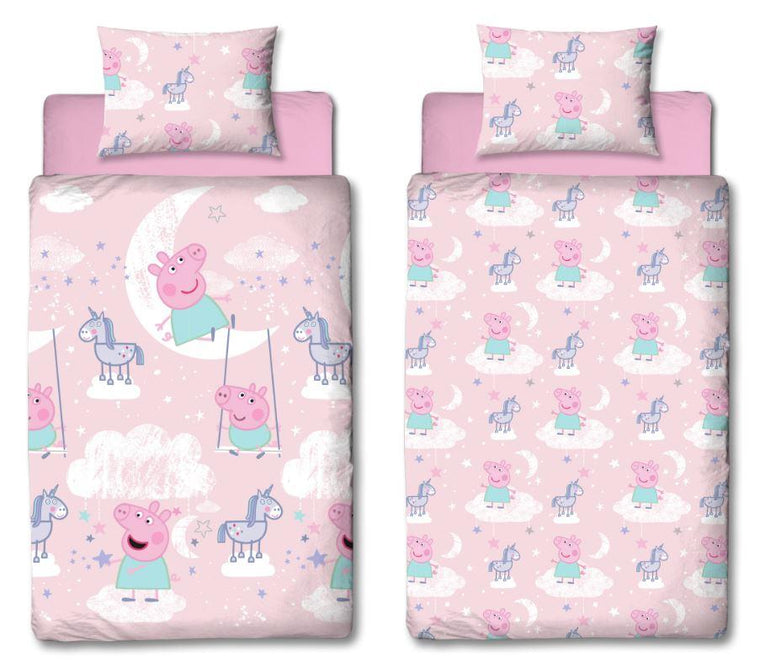Peppa Pig Single Bedding Set | Stardust Rotary