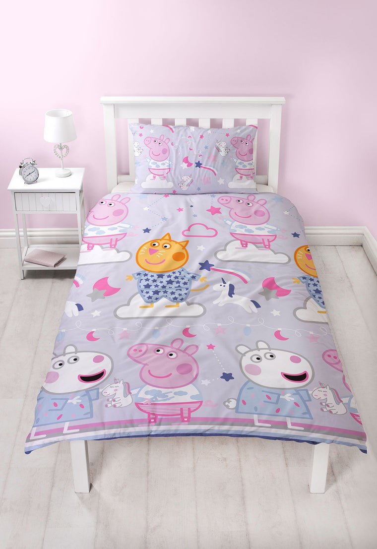 Peppa Pig Single Bedding Set | Sleepy