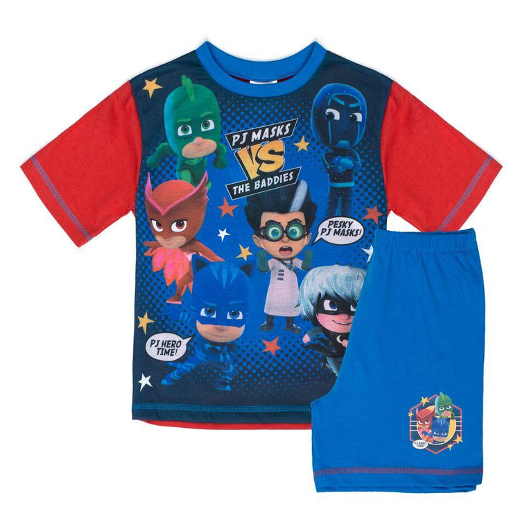 Boys PJ Masks Short Pyjamas