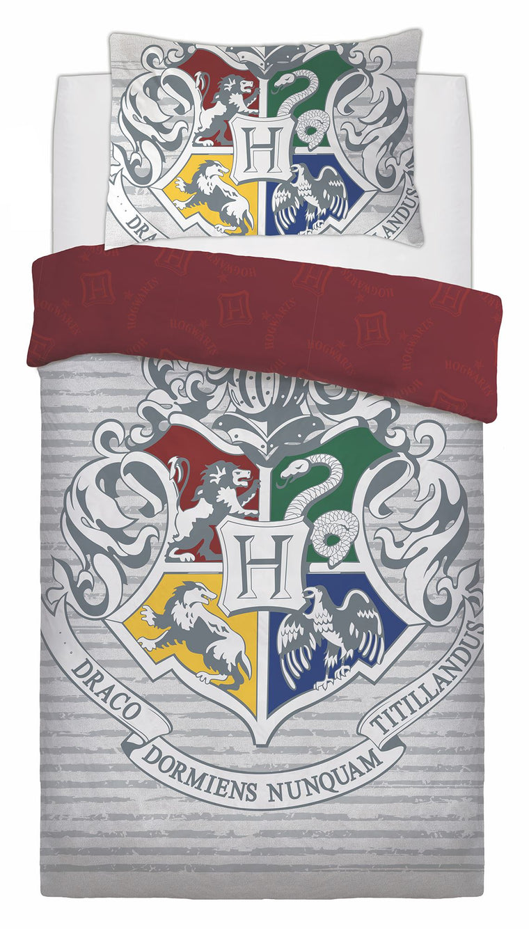 Harry Potter Single Bedding | Hogwarts