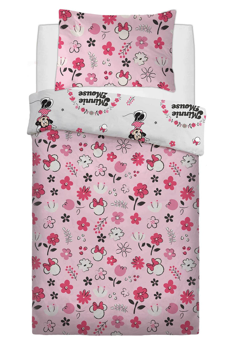 Single Minnie Mouse Bedding Set