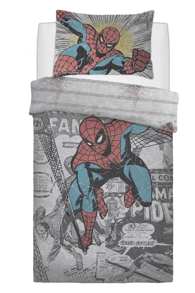 Single Spiderman Bedding Set
