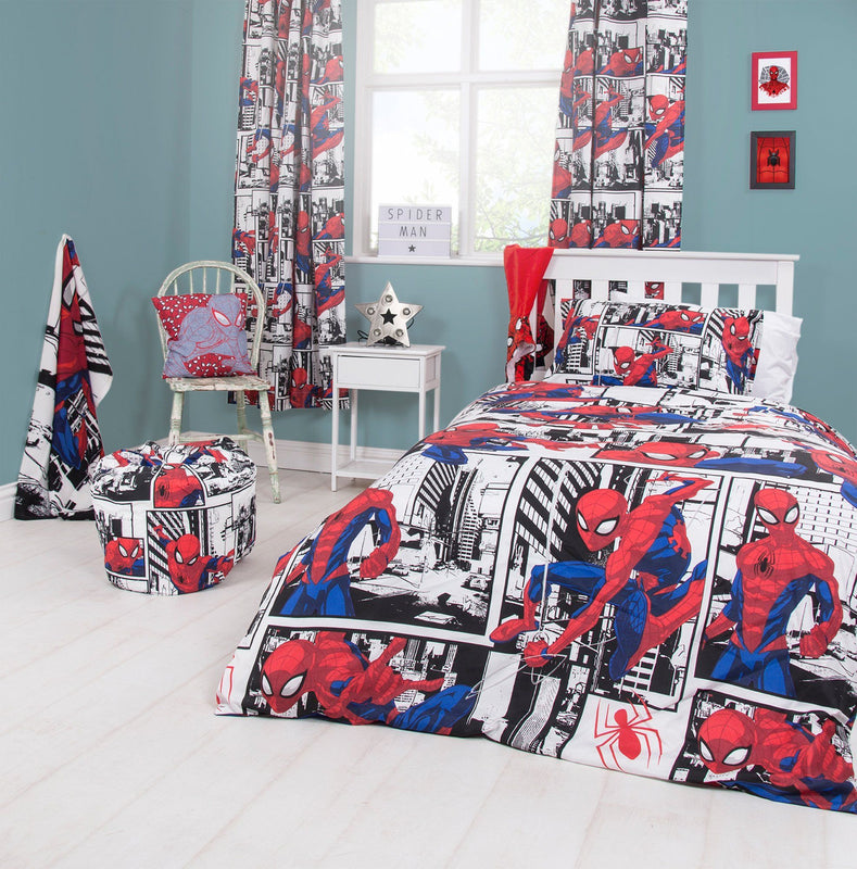 Spiderman Bedding Bedding Cool Clobber Limited