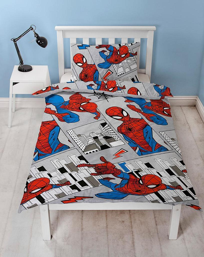 Spiderman Flight Bedding - Single Bedding Marvel