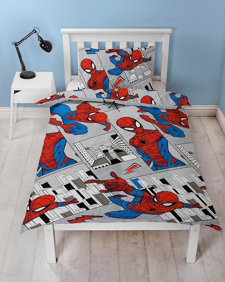 Spiderman Flight Bedding - Single
