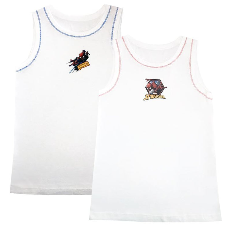 Spiderman Vests - Pack of 2