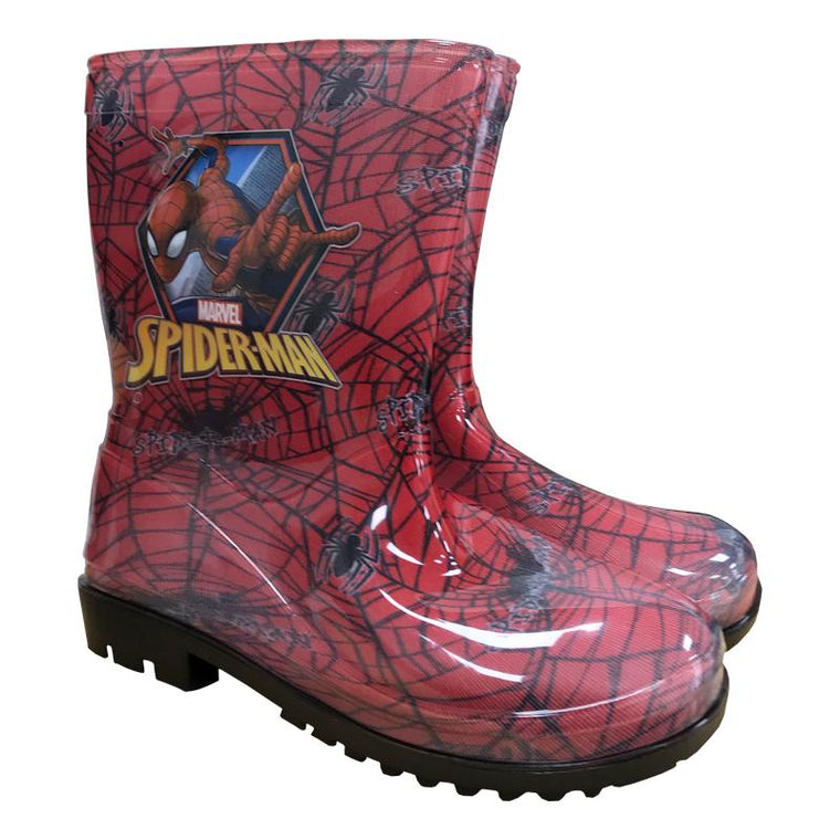 Boys Spiderman Wellies
