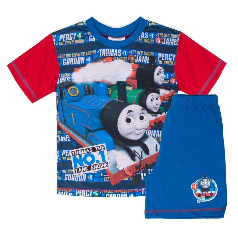 Thomas The Tank Engine Short Pyjamas