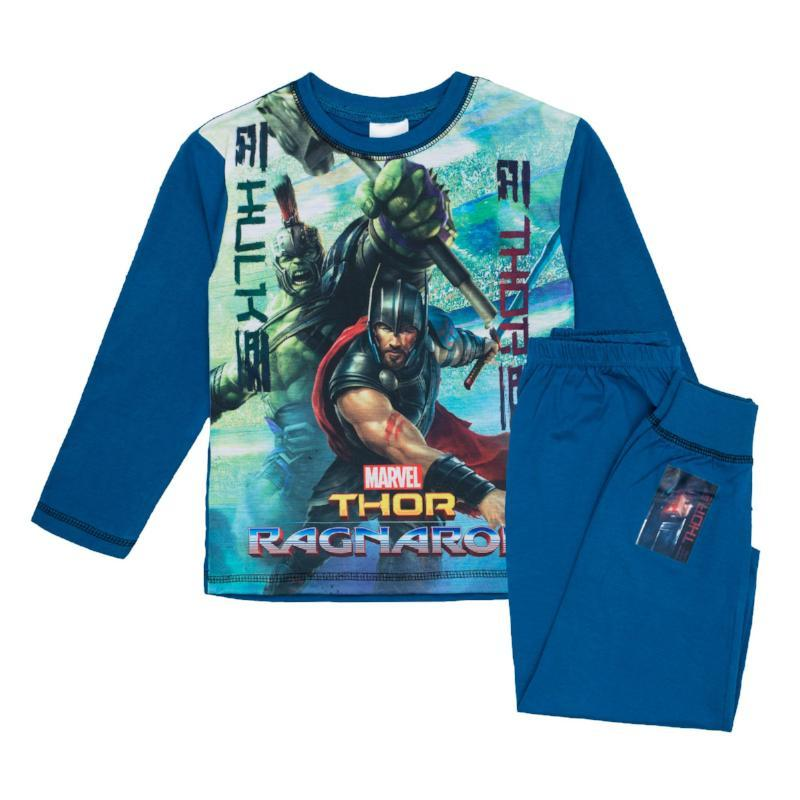 Thor Pyjamas Boys Pyjamas Cool Clobber Limited