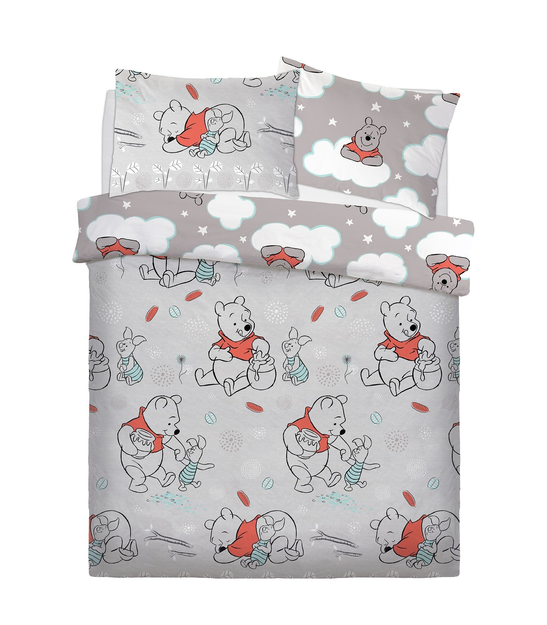 Winnie The Pooh Double Bedding Bedding Cool Clobber Limited