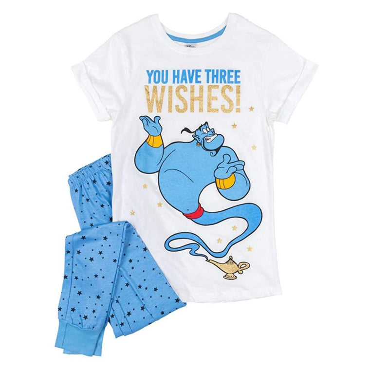 Womens Disney Aladdin Pyjamas