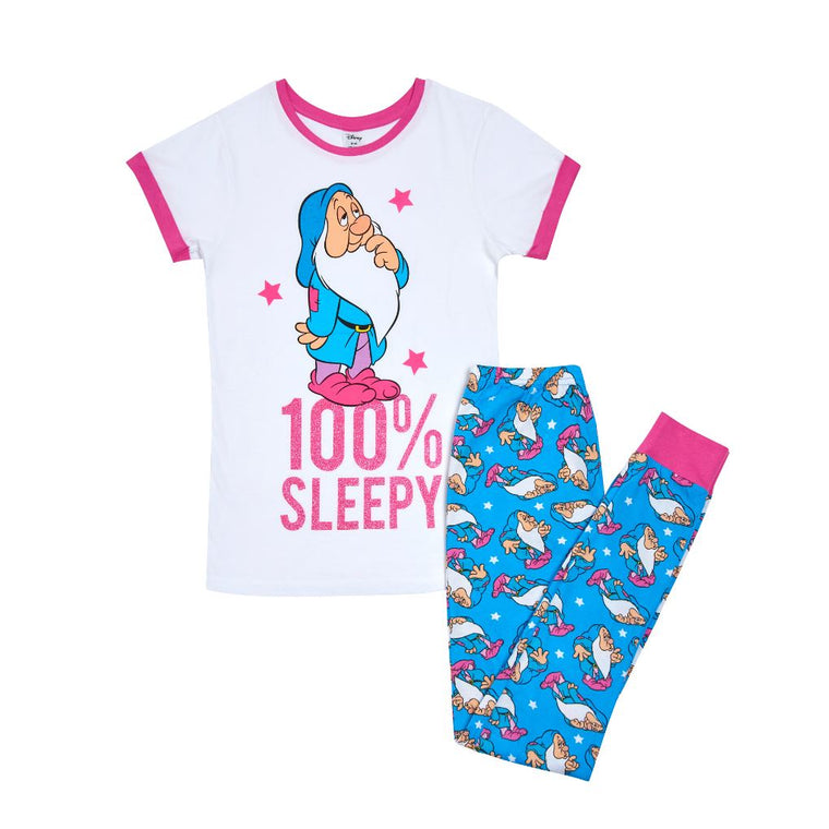 Womens Disney Snow White Pyjamas | 100% Sleepy