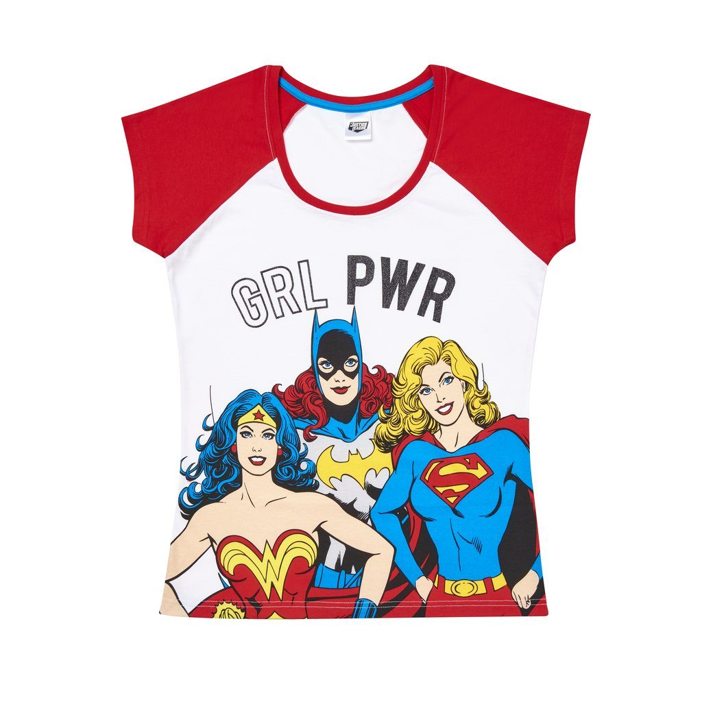 Women's Justice League Pyjamas Womens Nightwear DC Comics