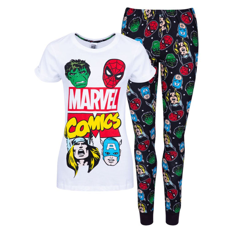 Womens Marvel Comics Pyjamas