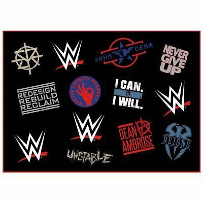 WWE Sherpa Fleece Blanket