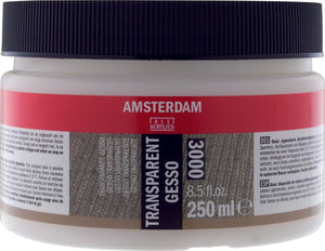 Amsterdam Gesso transparent 250ml