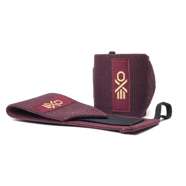 [EXO] Cotton Wrist Wraps - Maroon