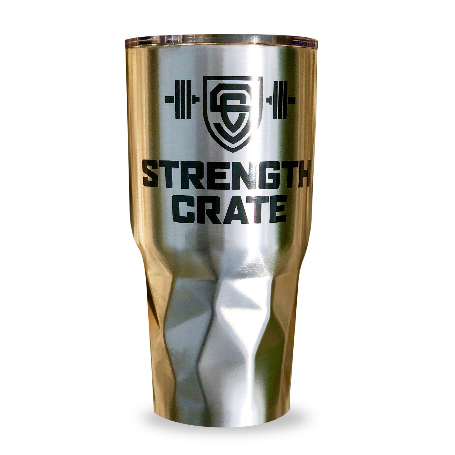 StrengthCrate Stainless Steel Vacuum Tumbler