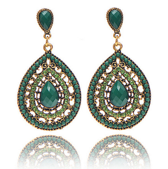 Bohemian style New Fashion Earrings Unique Design Fashion Jewelry Wedding Gift 6 Colors - Gisselle Morales