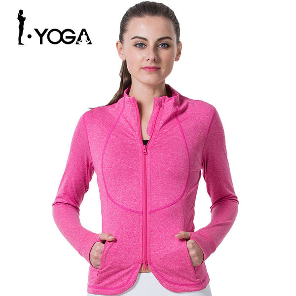 Winter Jackets Boho Style Dry Fit Running Jacket Gym Fitness Jackets For Boho Style Sports Yoga Coat Yoga Jacket Long Sleeve Vest - Gisselle Morales