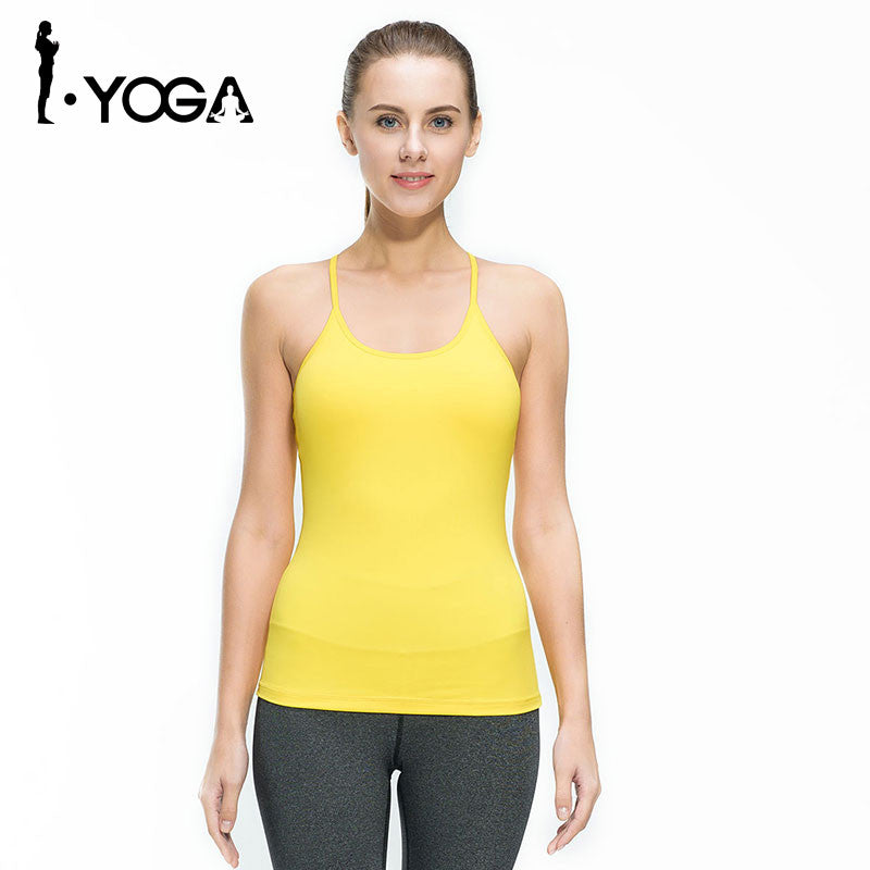 Boho Style Fitness Gym Sports Yoga Vest Sexy Sleeveless Shirts Running Clothes with Breathable Quick Dry Spandex Tank tops