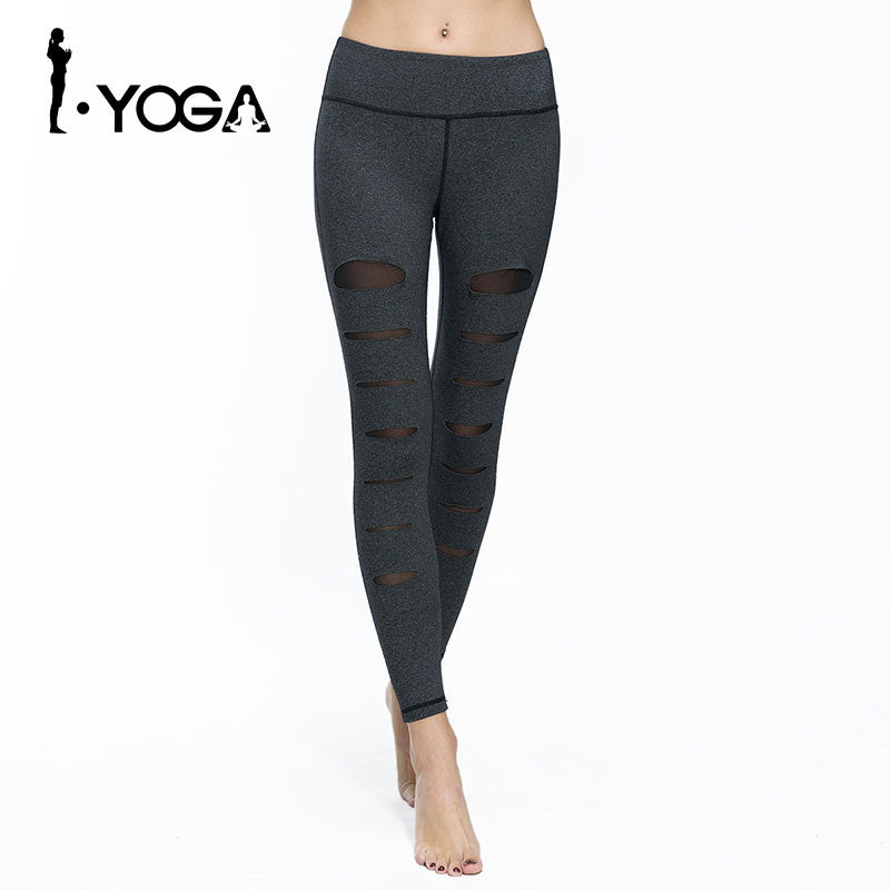 Boho Style Fitness Leggings Yoga Pants Gym Sports Running Trousers Compression Tight Sexy Hips Push Up Sportswear Running Sweatpants