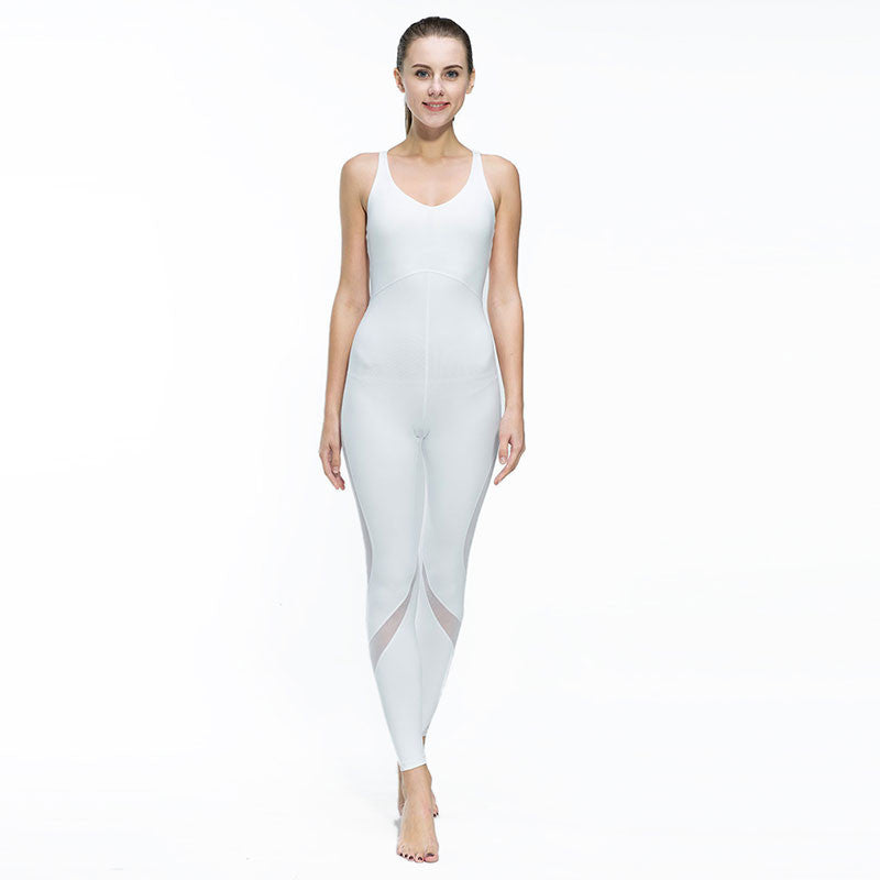 Boho Style Fitness Yoga Set Gym Sports Running Jumpsuits Jogging Dance Tracksuit Breathable Quick Dry Spandex Sportswear Clothes Suit