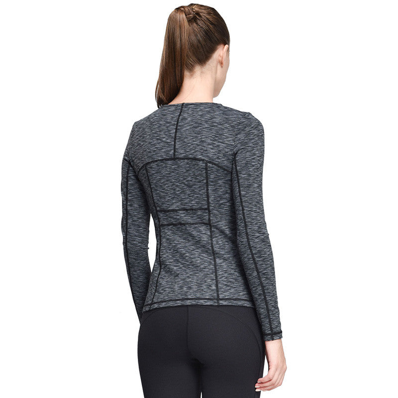 Boho Style Yoga Jacket Fitness Running Shirt For Boho Style Sportswear Elastic Tight Gym Roupa de Academia Zipper Fitness Clothes - Gisselle Morales