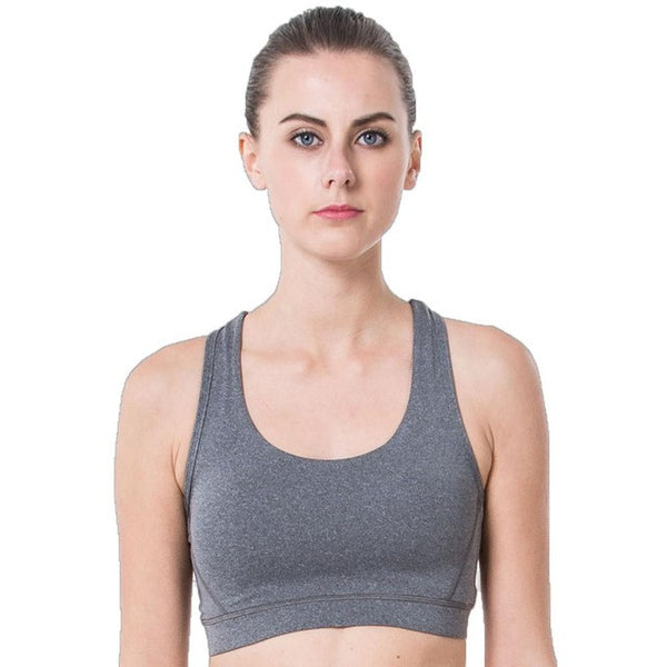 Rushed Strappy Bra Cropped Boho Style Yoga Bra Athletic Built-in Pad Sports For Push Up Tank Top For Girls Ropa Deportiva - Gisselle Morales