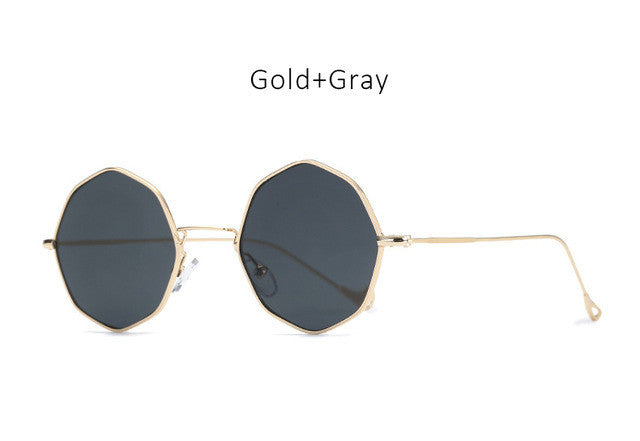 New Hippie Round Sunglasses - Gisselle Morales