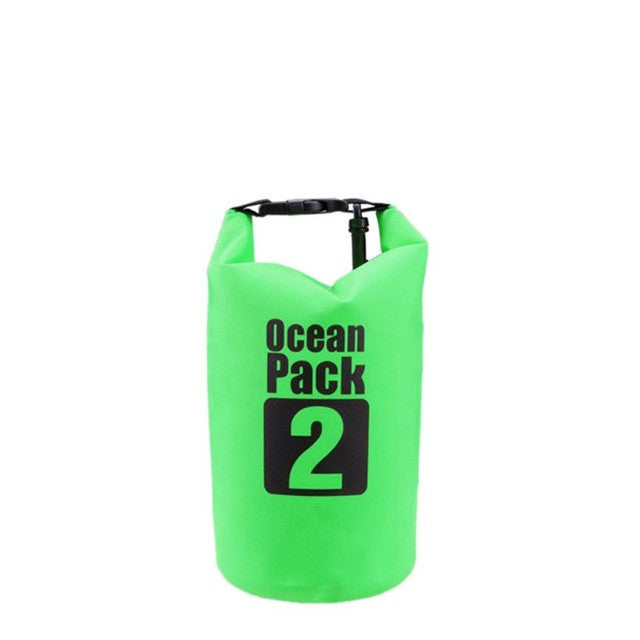 1PCS High Quality Outdoor Waterproof Bags Ultralight Camping Hiking Dry Organizers Drifting Kayaking Swimming Bag 2L