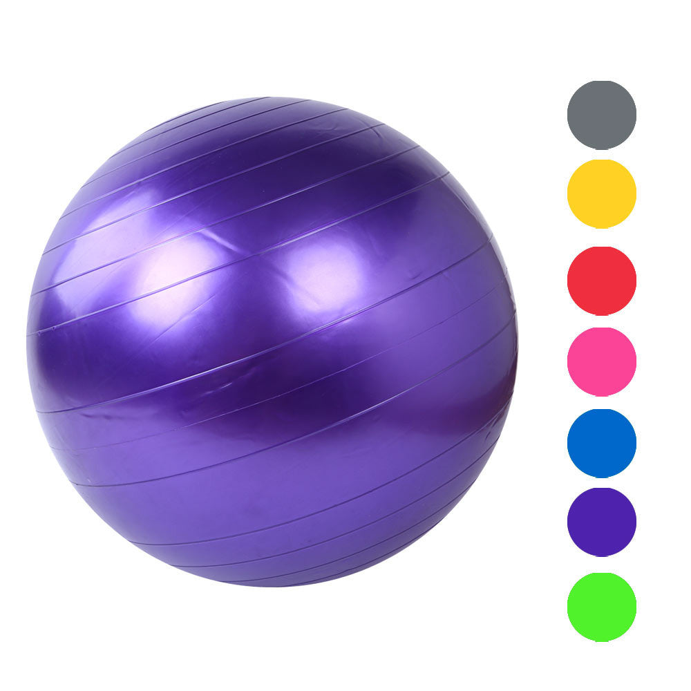 Home Exercise Workout Fitness Gym Yoga 55cm indoor fitness Exercise Fitness GYM Smooth Yoga Ball #20 - Gisselle Morales
