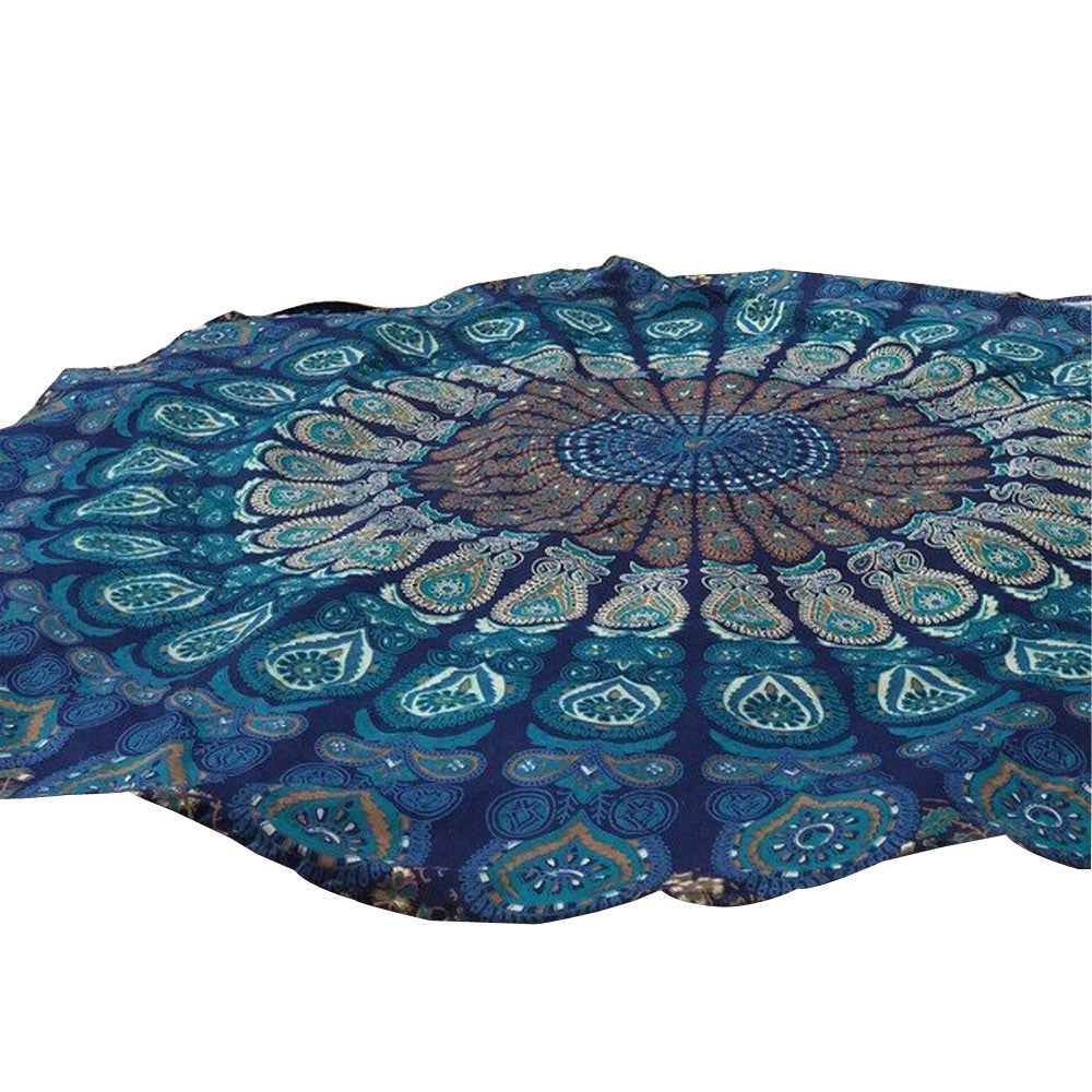 New Arrival Round Beach Pool Home Shower Towel Blanket Table Cloth Yoga Mat#20 - Gisselle Morales