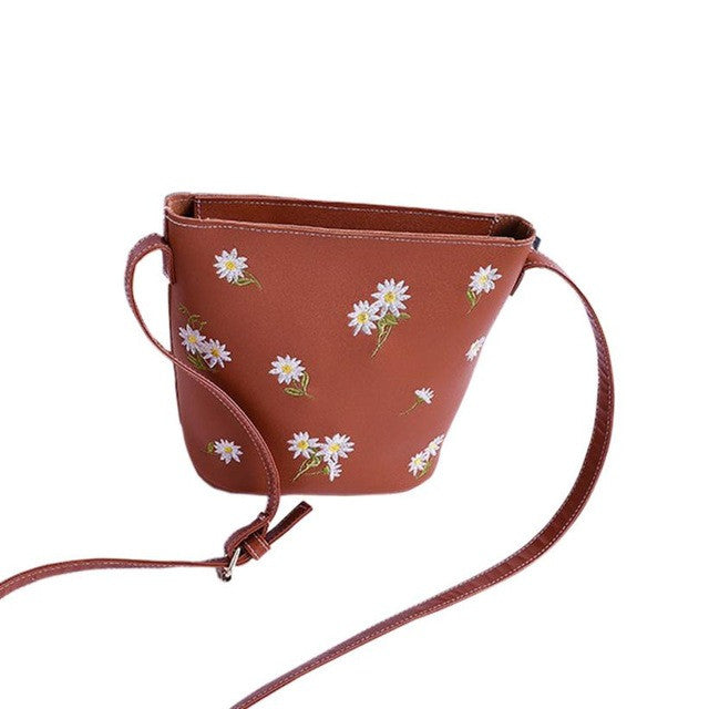 Xiniu Boho Style bag floral Shoulder Bag fashion Print Boho Style messenger bags japan canvas Small Square Bag 6M - Gisselle Morales
