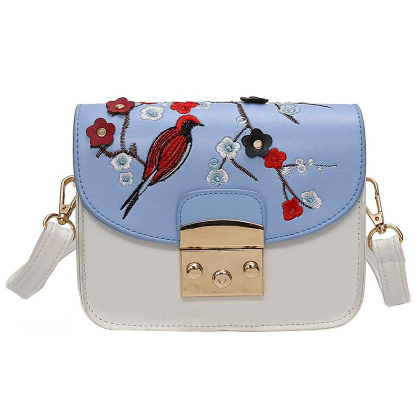Boho Style bag summer floral embroidery bag Boho Styles bag small crossbody chains shoulder bags for Boho Style bolsos mujer 0523EL - Gisselle Morales